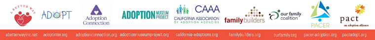 2018 California Adoption Conference Sponsors